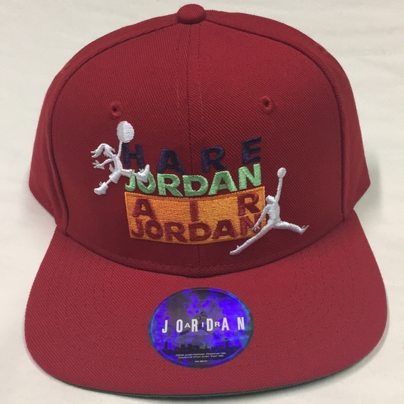 f28fb179bc7 ... norway air jordan hare jordan red snapback hat acd47 506e8